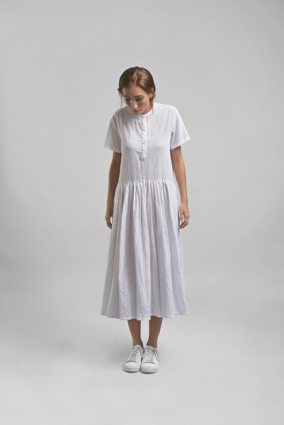One Fine Day Dress Cotton Texture