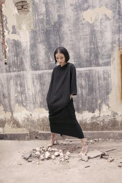 Kite Dress Black